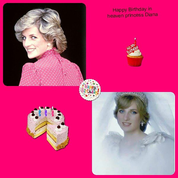 Happy birthday in heaven princess Diana