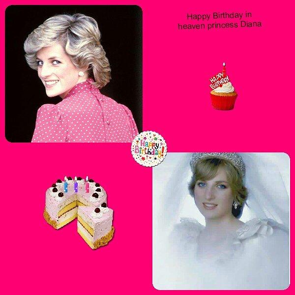 Happy birthday in heaven princess Diana