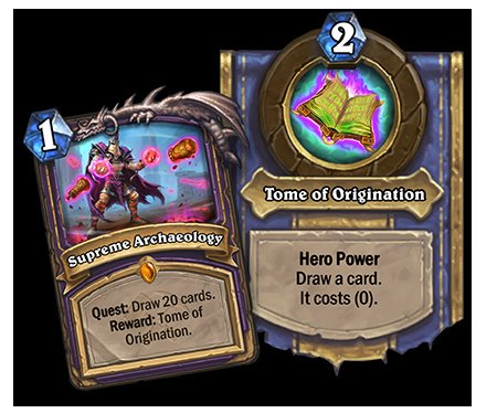 kripparrian pa twitter quests are coming back in a big way the rewards aren t that crazy but you can slot the two they revealed into any deck https t co fkq80uwnyz twitter