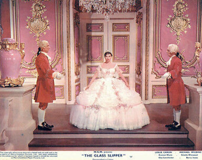 Happy 88th Birthday Leslie Caron! Born today July 1, in 1931.  Photo of her in THE GLASS SLIPPER (1955)