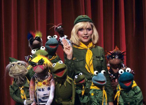 "Happy birthday, Debbie Harry! Starting the day with the ""Rock Music with The Muppets\"" collection on"