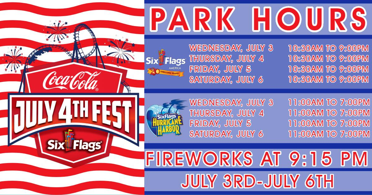 Six Flags America (@SixFlagsDC) | Twitter