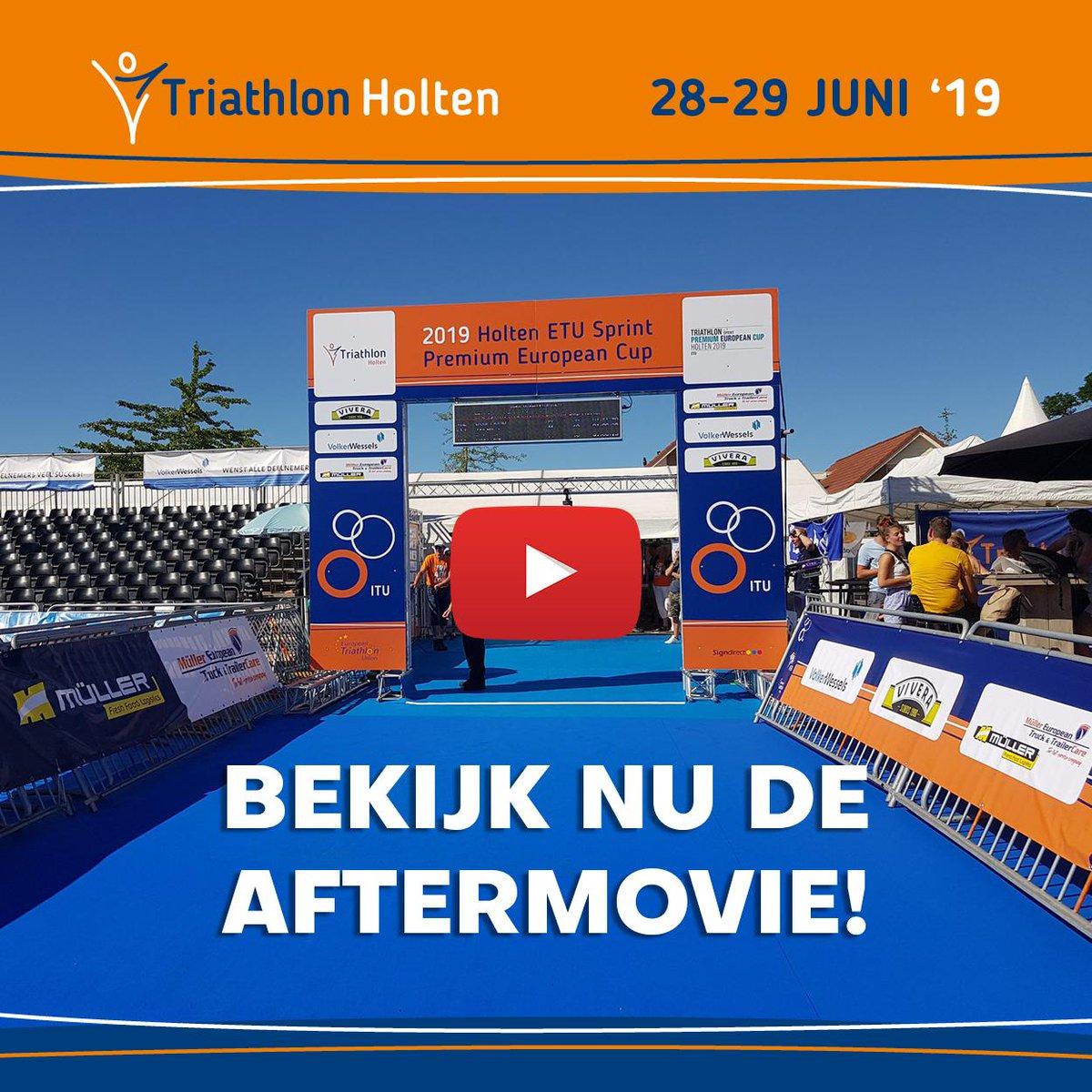 a1f848dbf9430c Beleef nogmaals de races en heerlijke sfeer van de Triathlon Holten 2019.  Check de officiële aftermovie van de 35e editie!