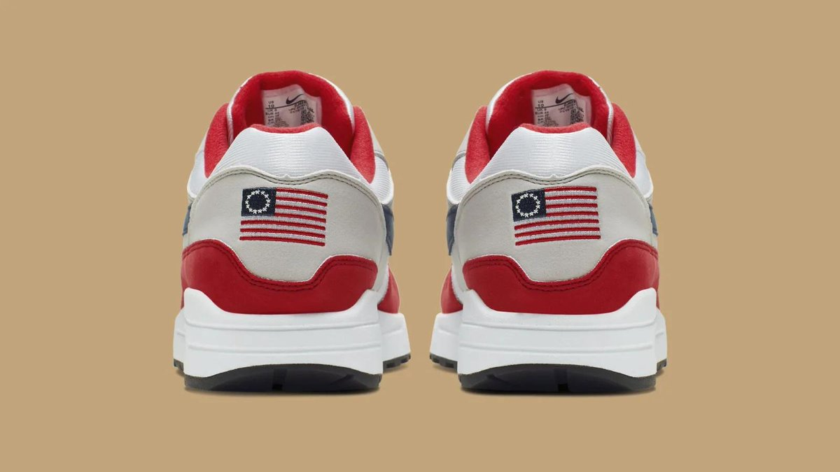 Nike pulls Betsy Ross flag sneakers amid Colin…