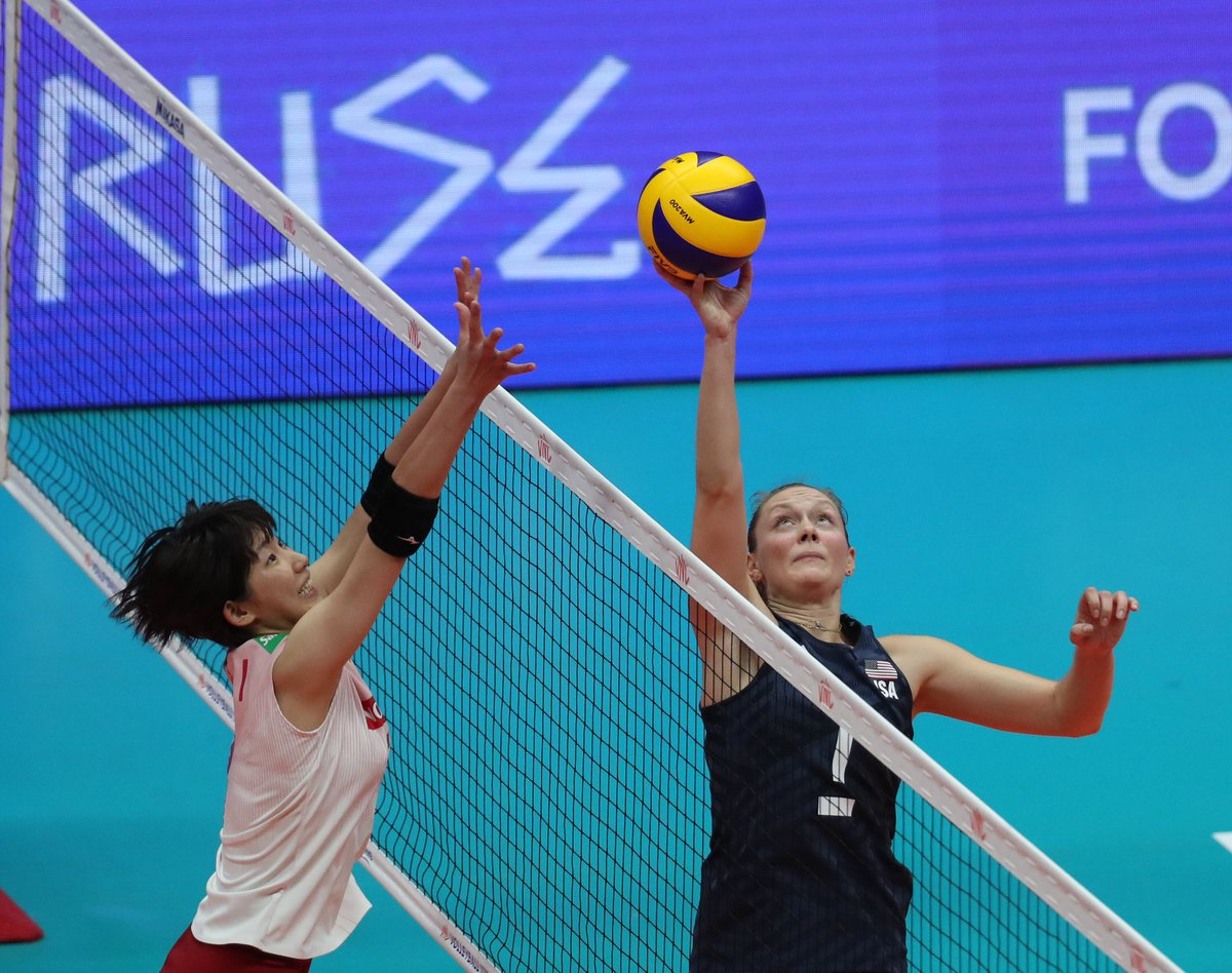Check out who made the Pan American Cup roster for @usavolleyball 👀 Details: go.usav.org/7119WNT 📸: FIVB