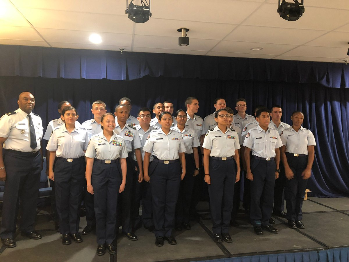 We are so very proud of our 13 Cadets. They represented the unit and the community well.   We had an academic winner from A flight and C flight and the C Flight Cadet won overall Academic Award.  <a target='_blank' href='http://twitter.com/APSCareerCenter'>@APSCareerCenter</a> <a target='_blank' href='https://t.co/K7RI3SyMhG'>https://t.co/K7RI3SyMhG</a>