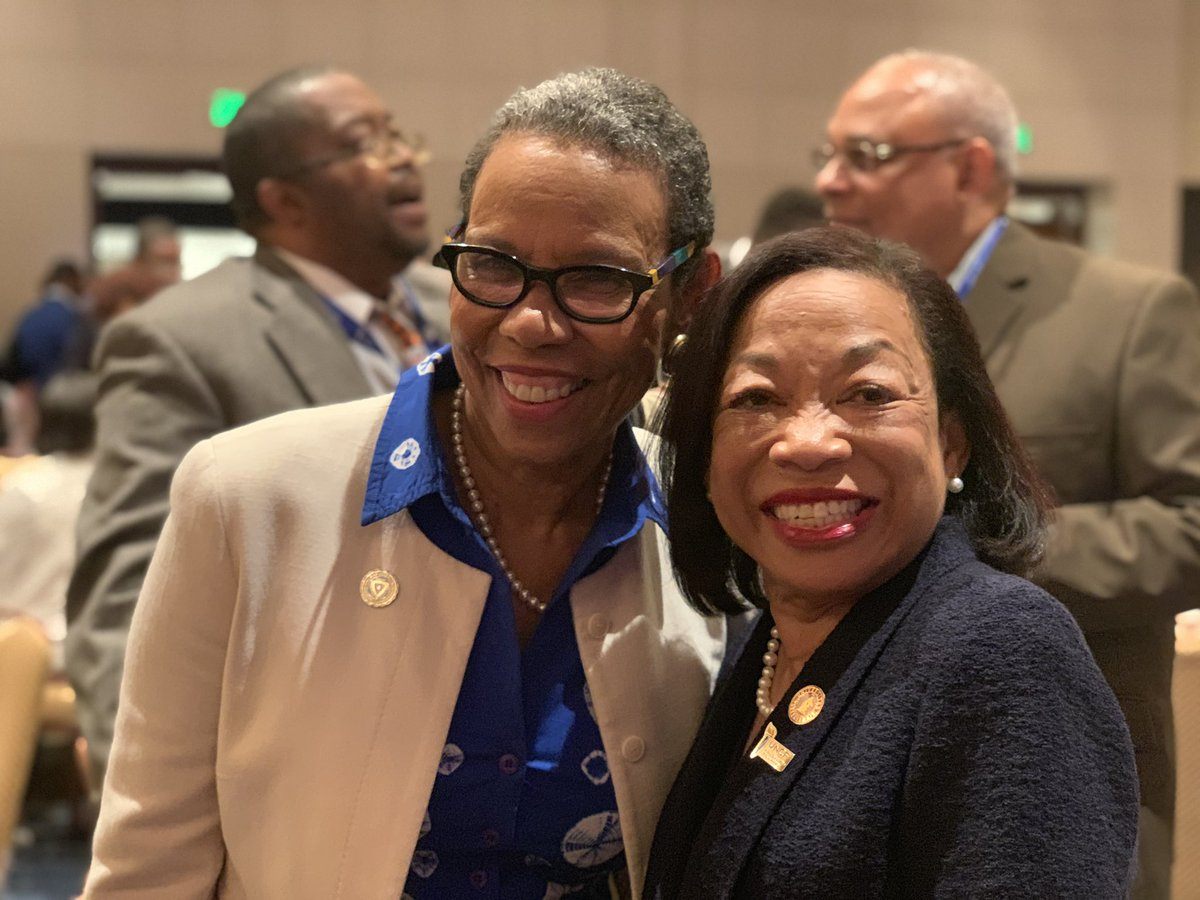 Always great to see our women leaders! #UNCFCPI #HBCUPromise2Purpose @SpelmanPres @SpelmanCollege @TuskegeeUniv