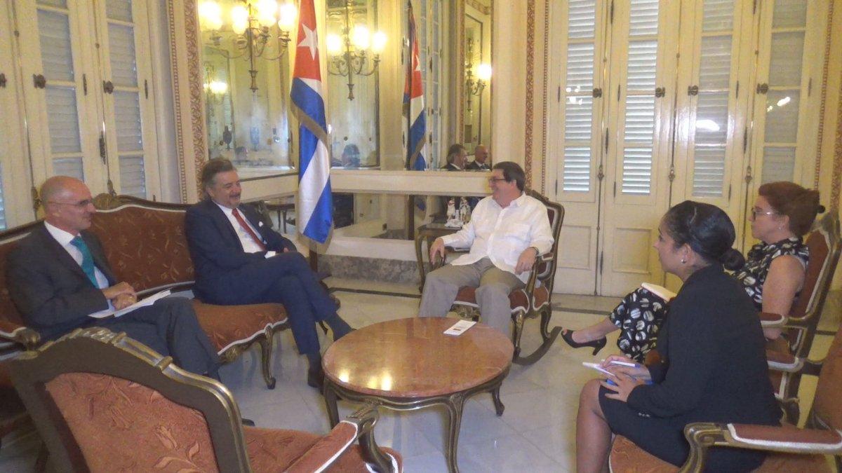 Destacan nexos bilaterales entre Cuba y Alemania