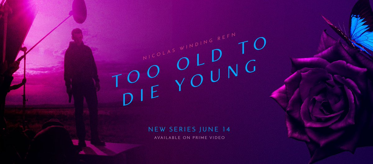 Started watching Ed Brubaker & @NicolasWR's TOO OLD TO DIE YOUNG. Totally engrossing & dark L.A. noir. Love the gritty locations. Pacing has the feel of David Lynch, the terrific electronic score is reminiscent of Tangerine Dream's '80s scores. I'm hooked! #TooOldToDieYoung https://t.co/QFnryNn448