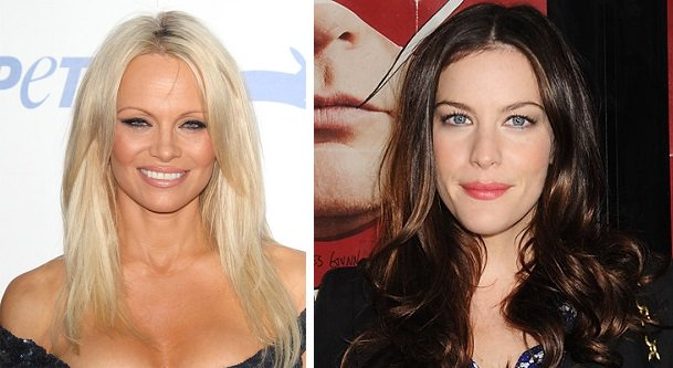 HAPPY BIRTHDAY ! Pamela Anderson  and  Liv Tyler