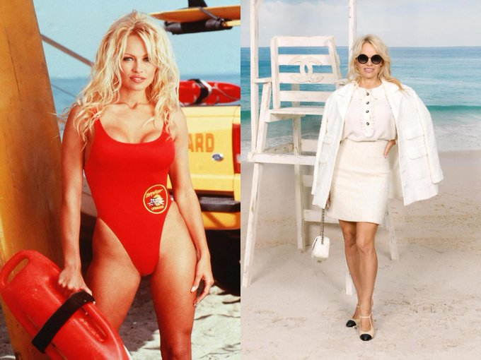 Happy Birthday to the iconic, multi-talented, Pamela Anderson!  © Shutterstock / Courtesy of Chanel