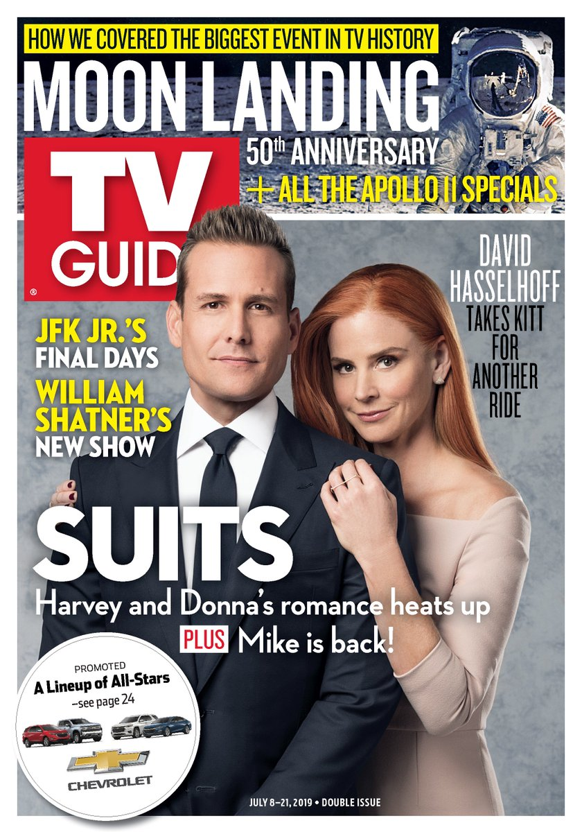 #Darvey is bringing the heat to this week's @TVGuideMagazine cover! 🔥