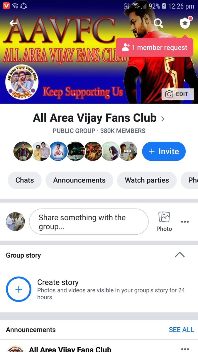 Thalapathy Santhosh CEO At AAVFC - @Thalapathysanu Twitter Profile