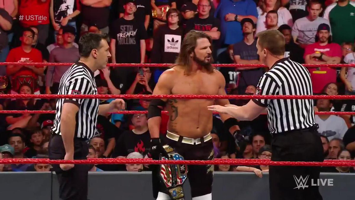 AJ Styles Turns Heel On Tonight's WWE RAW (Photos, Videos)