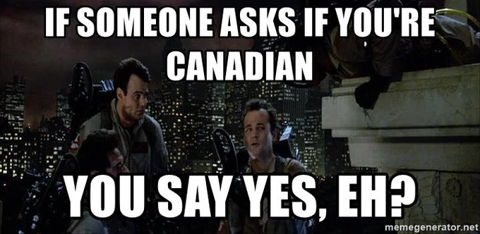 Happy Canada Day to all   And Happy Birthday to the Canadian Founding Father of Ghostbusters,