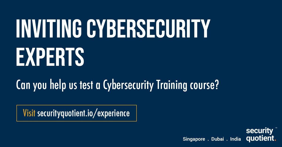 Security Quotient (@SecureQuotient) | Twitter