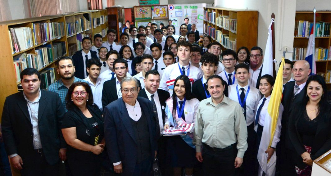 Paraguay - Salesian students win all prizes in writing competition https://t.co/lGptxQSBhw https://t.co/TFoETKVFUE