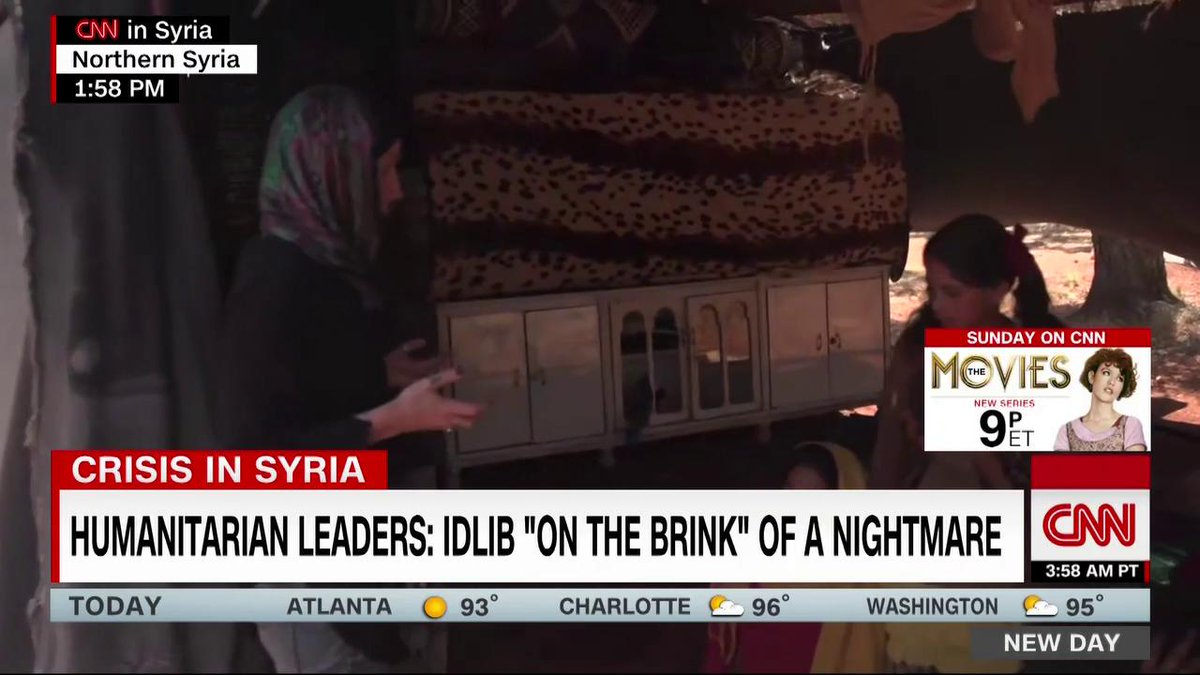 """The leaders of 11 global organizations say that Northern Syria is """"on the brink"""" of a humanitarian crisis.  @arwaCNN is on the ground at a makeshift refugee camp with the latest."""