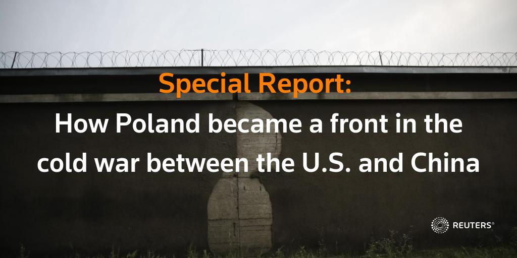 The detention of a Chinese businessman in Poland earlier this year had elements of a classic Cold War thriller, updated for the 21st century. Read our @SpecialReports investigation: https://reut.rs/2NBLMY2 by @JoannaPlucinska, @GQReuters, @AlicjaPtak4, @Stecklow
