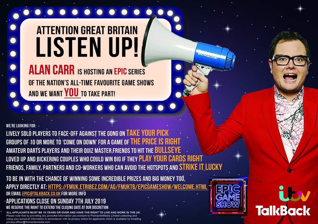 dating show auditions UK