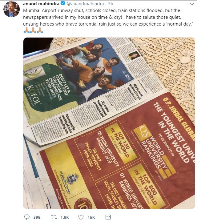 TimesResponse's tweet -