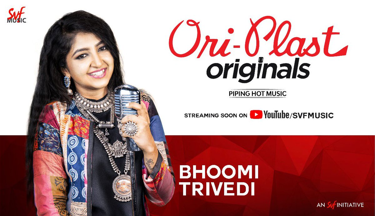 First look of @BhoomiOfficial from #OriplastOriginals .🎙 Welcome on board.