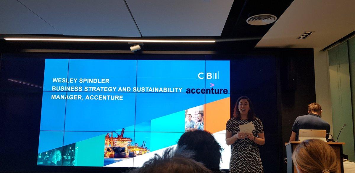 @wesleyspindler kicks off today's event on Sustainability #LDNClimateAction #CBI