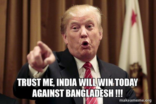 INDIA (even the world leaders agree with me  )  #Contest #ContestAlert #MoneyTapExtraaaWinnings  #MoneyTap #INDvsBAN #BANvIND #CWC19 #ICCCricketWorldCup2019 @MoneyTapApp   @pratikzart  @Yellowpetals  @ShantiVB6  @Devanginee  @Raahi_supergirl<br>http://pic.twitter.com/POxoEIQZhY