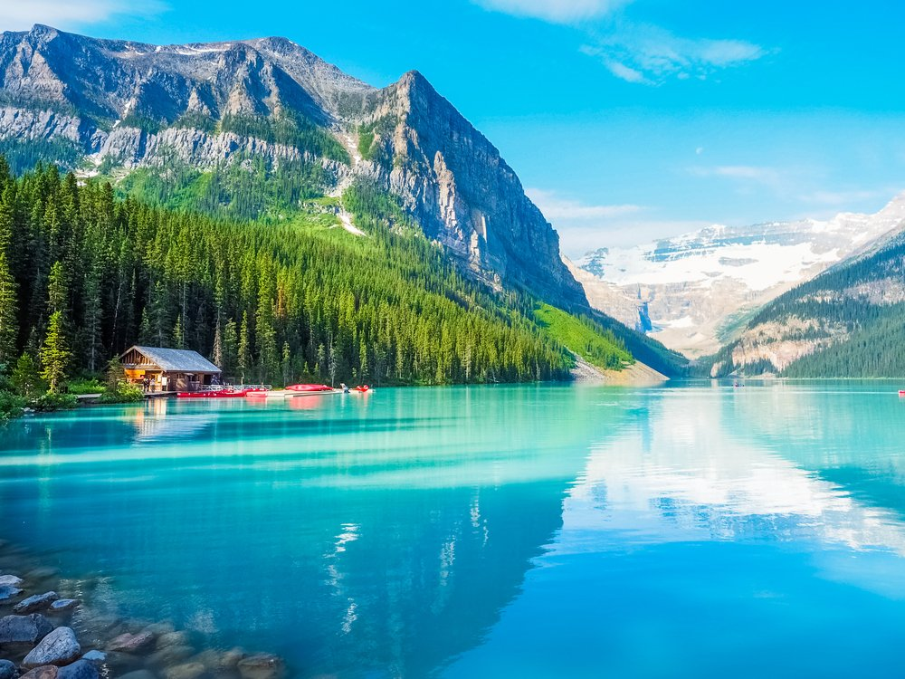 Is Canada on your bucket list? We've flights for 2 to one of 7 Canadian destinations of your choice with @AirCanada . Choose from Toronto, Vancouver, Montreal, St. John's, Halifax, Ottawa or Calgary. Follow & RT to enter. This is Banff National Park. #DUBAirCanada