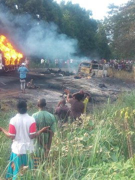 At least 40 people have died and over 60 have been injured in an oil tanker explosion in Benue state, central Nigeria, according to report on BBC Africa