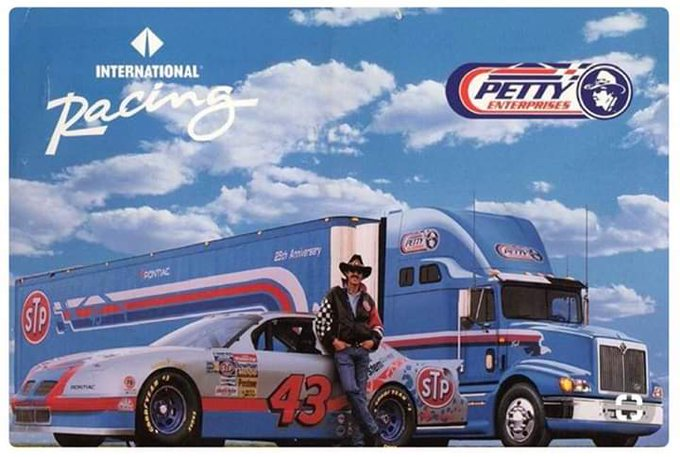 Happy birthday mr Richard petty we hear in Dover Delaware love you and we wish many many more
