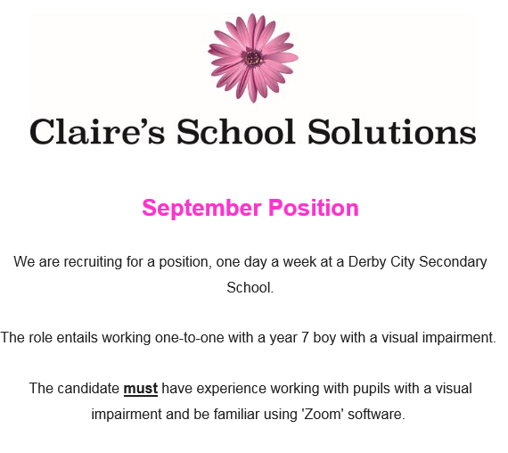 Please get in touch if you are interested in this position :-)