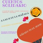 Image for the Tweet beginning: Cuentos solidarios de la asociación