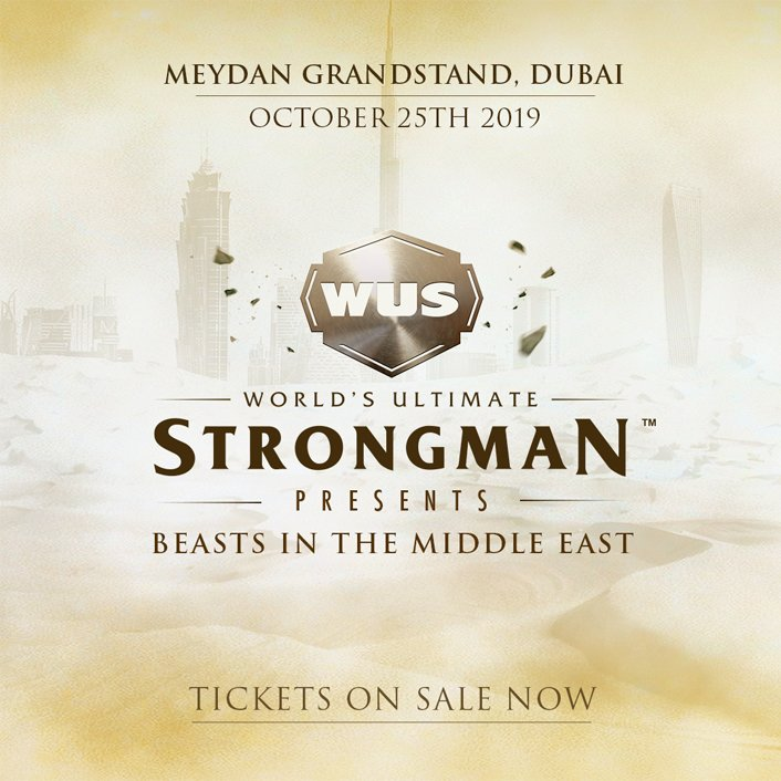 World's Ultimate Strongman is back! Tickets are now on sale. Book here: bit.ly/19-WUS