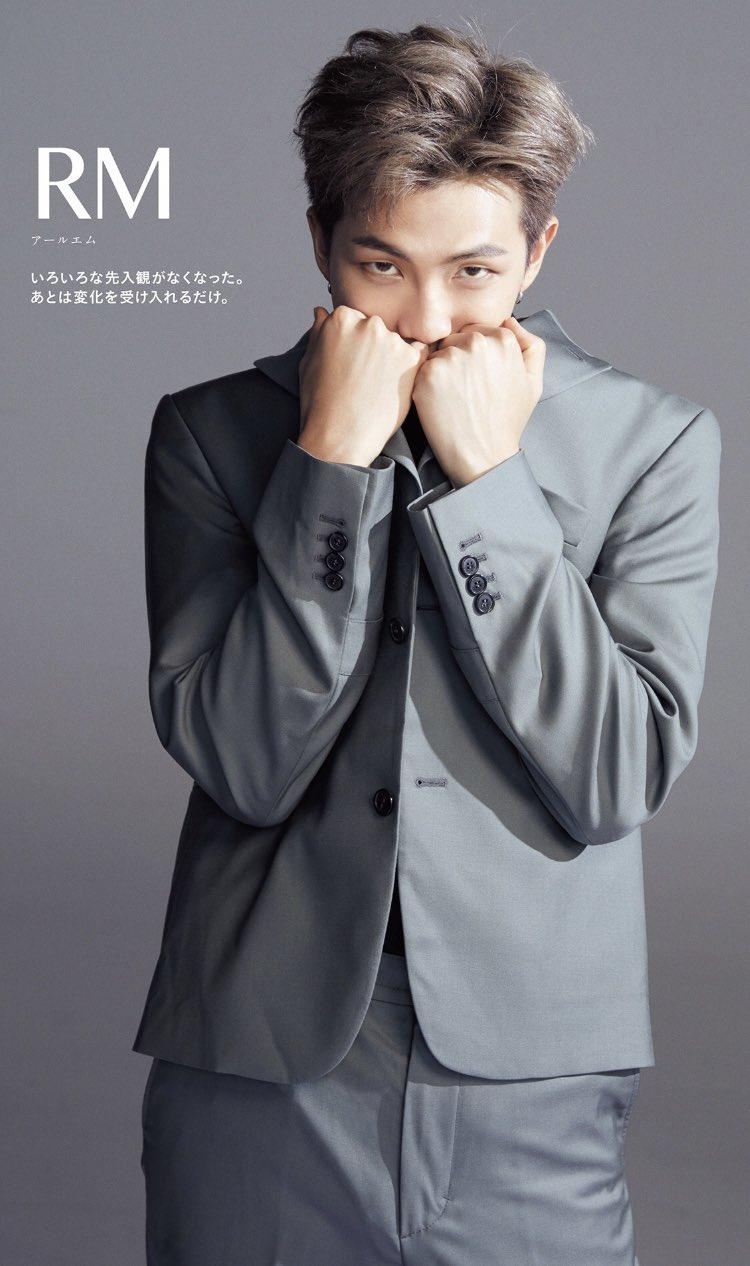 RM BTS © Anan Magazine 2019