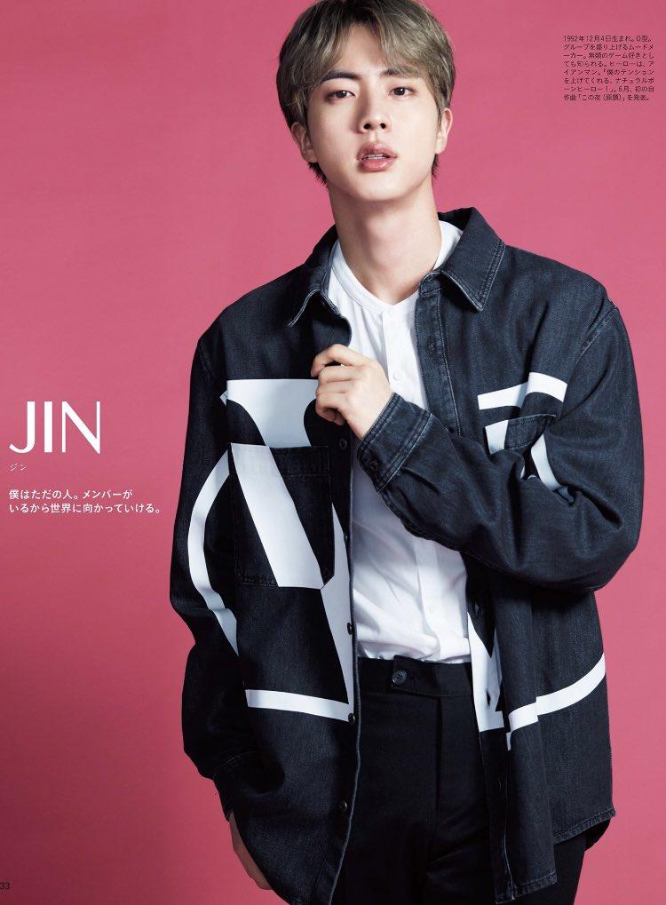 Jin BTS © Anan Magazine 2019