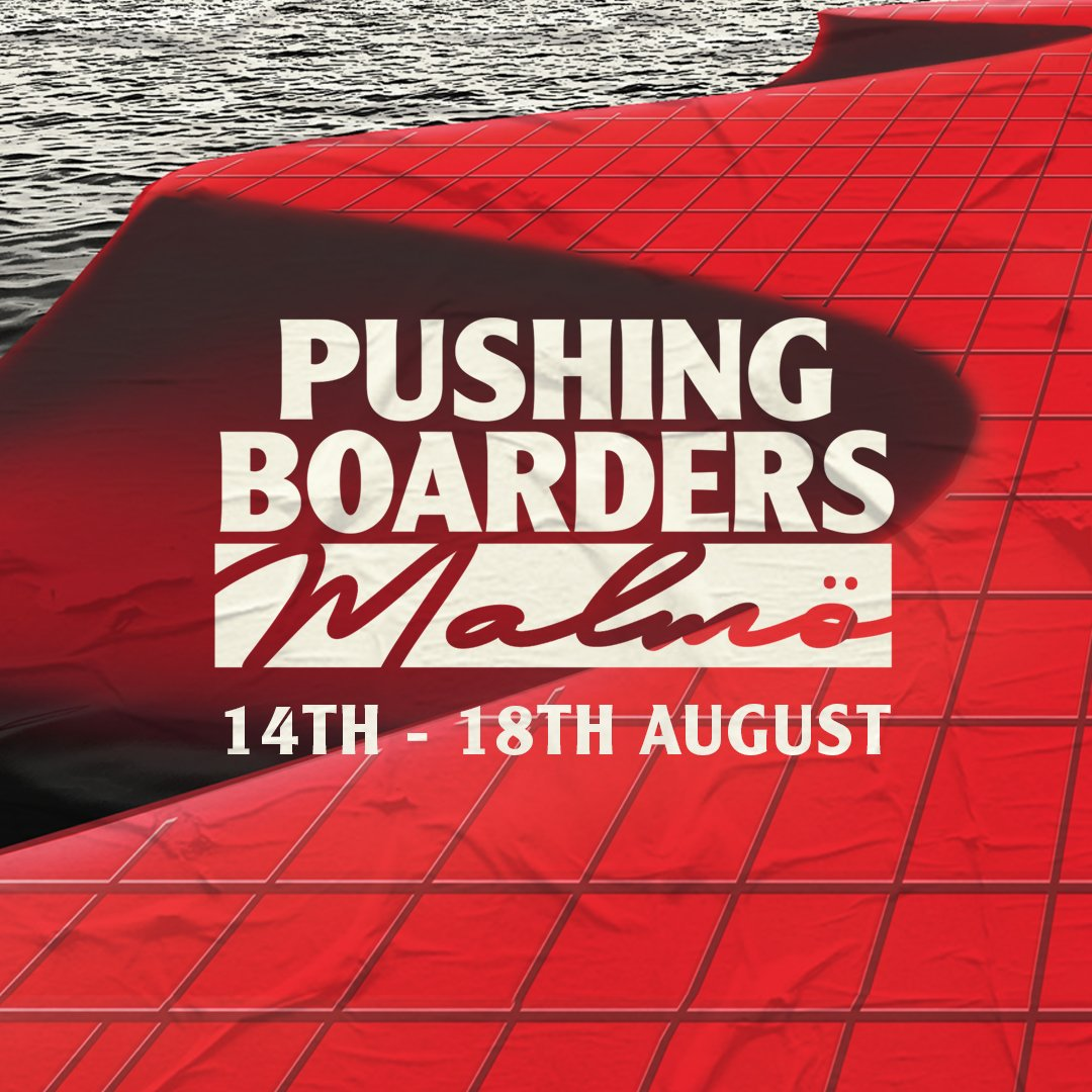 Talks for Pushing Boarders Malmö are now online. 🎉 Book your free ticket via pushingboarders.com