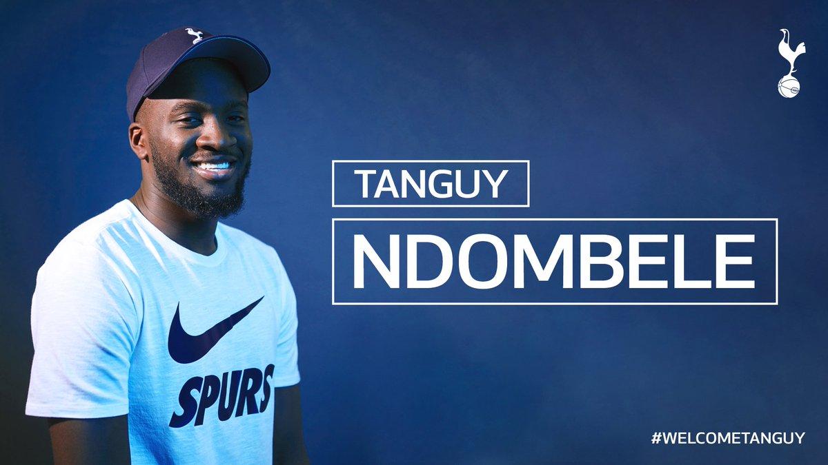 Tanguy Ndombele signe à Tottenham