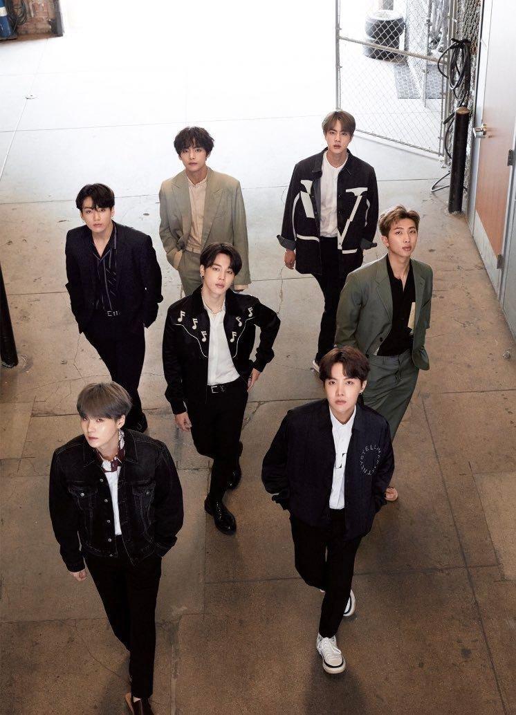 BTS © Anan Magazine 2019
