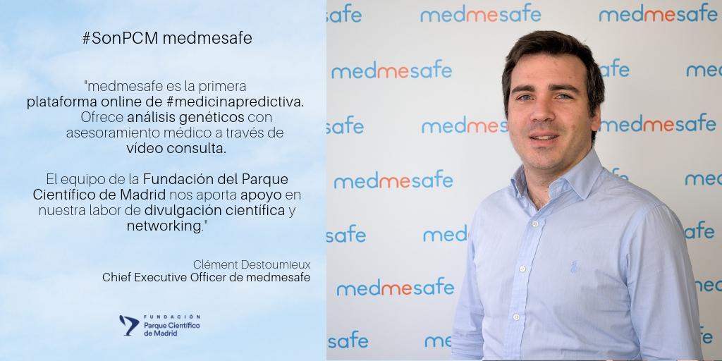 💬¿Sabías que @medmesafe ofrece #análisisgenéticos con asesoramiento médico a través de vídeo consulta? 💻🖥️Echa un vistazo a su web para ver todos sus #servicios👇 https://www.medmesafe.com/es/  #SonPCM #SomosFPCM #medicinapredictiva