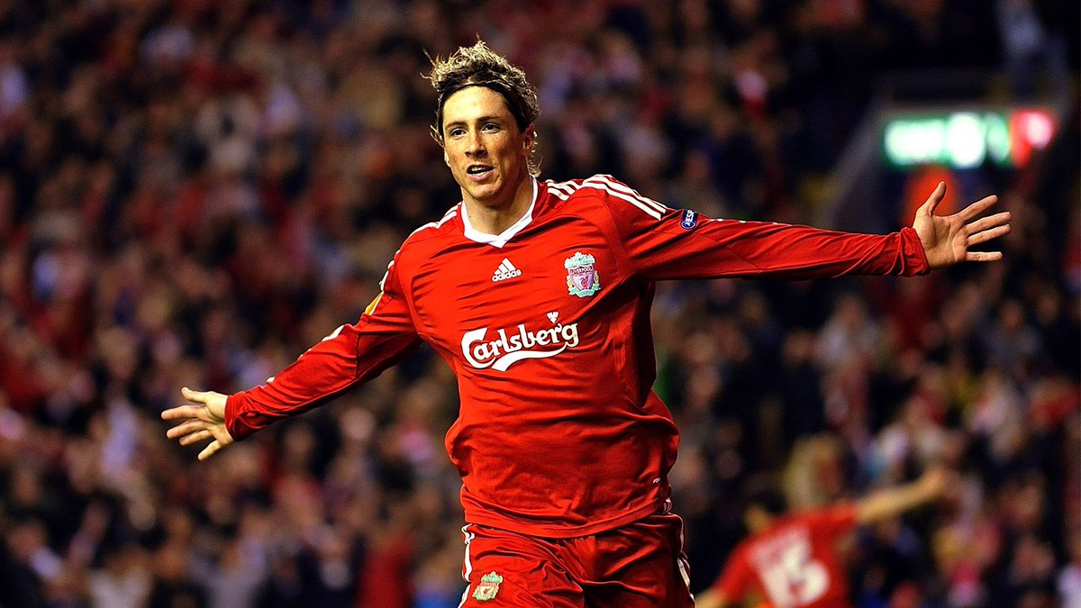 #OnThisDay 12 years ago, @Torres joined the Reds. 🔴 El Nino netted 81 goals in 142 appearances for us. ⚽️