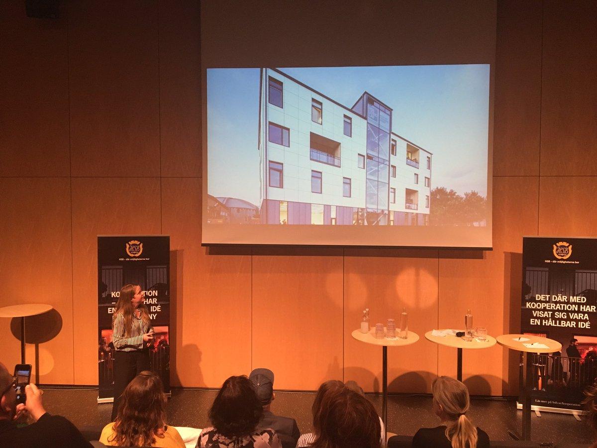 Två hållbara Göteborgsinnovationer pitchas på @hsbisverige i #Almedalen: Graytecs rening av gråvatten i @HSBLivingLab och mobilitetskonceptet @ec2b_mobility i @riksbyggen Brf Viva av @Trivector_  och @IRISsmartcities