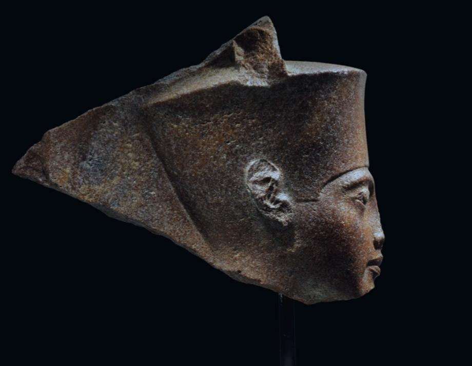 @ChristiesInc does the name Heinz Herzer sound any alarms? What valid paperwork do you have which would substantiates that the quartzite head of the young pharaoh portrayed as the ancient god Amun, left Egypt legally.