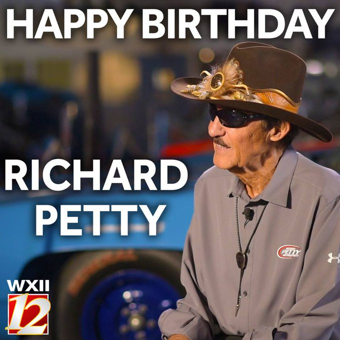 HAPPY 82nd BIRTHDAY, Richard Petty!