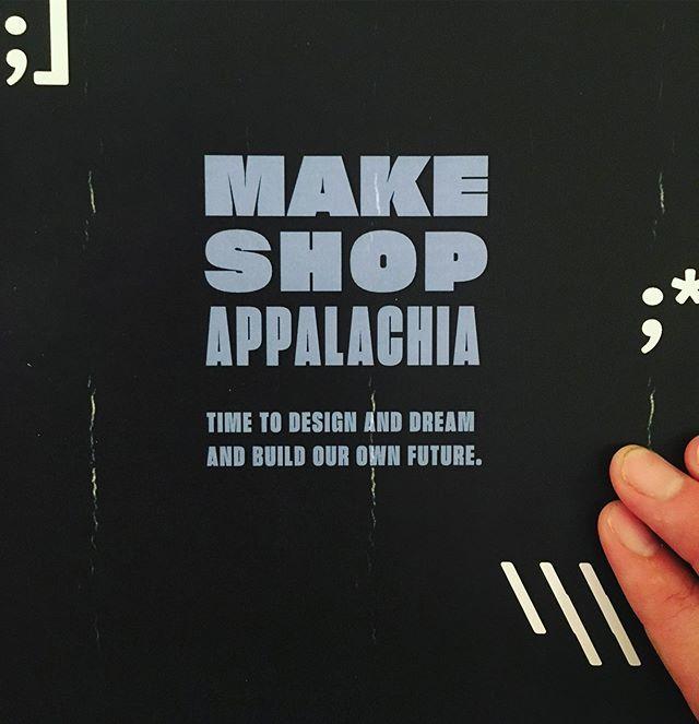 It begins.  #makeshopappalachia #techfuture #ruralrevival #codingforkids #designcanchangetheworld #charlestonwv<br>http://pic.twitter.com/1Q3iOFLKm6