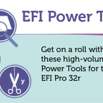 Image for the Tweet beginning: The EFI™ Pro 32r roll-to-roll