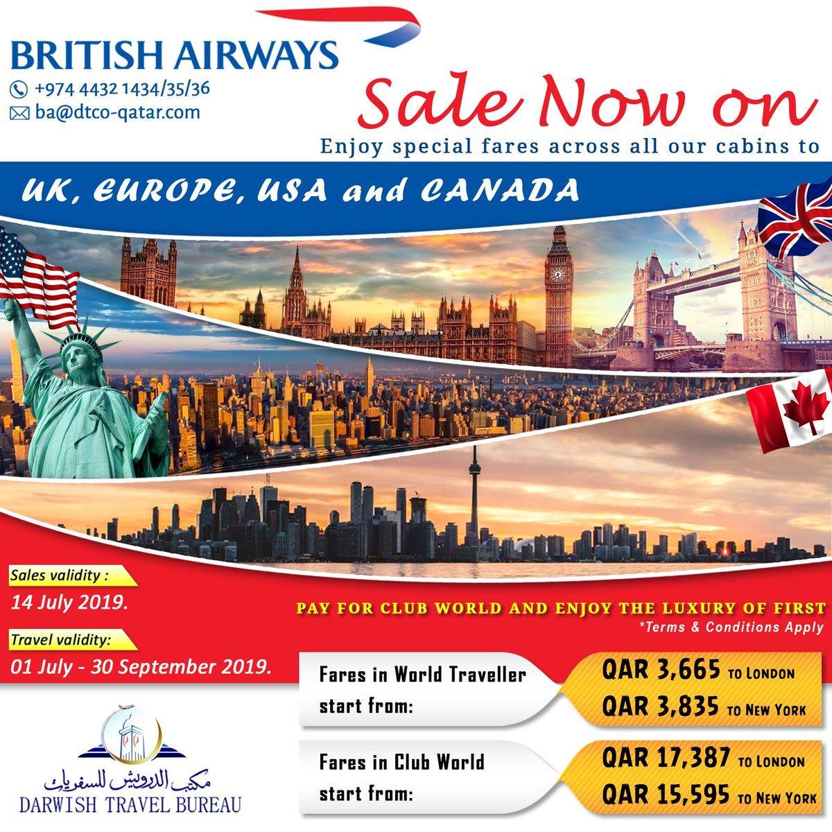 contact sales british airways