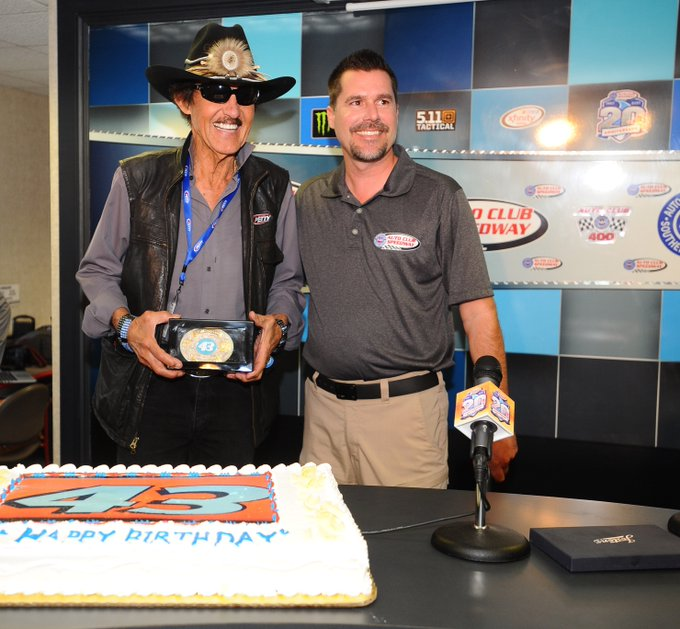 Happy Birthday Richard Petty from your friends at Auto Club Speedway! I