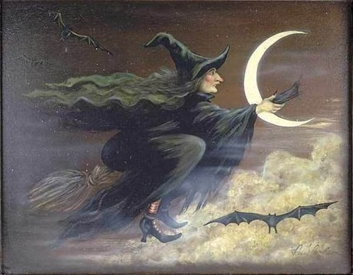 The Witches' Spell on Twitter: