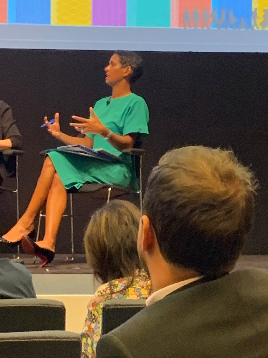 """Naga Munchetty gets her teeth into the BPF - """"why don't you ask your members to commit to a set of standards and publish compliance?"""" #BPFConf19"""